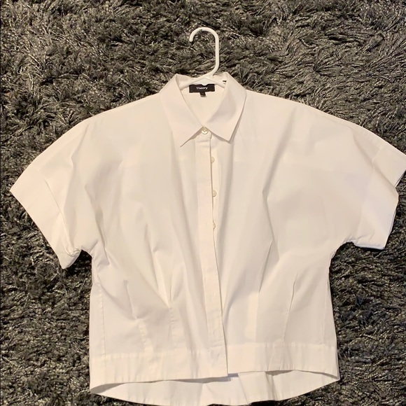 daa5eaab8 Theory women's crop shirt. M_5bccba32c9bf505ea97e3650. Other Tops you may  like. Theory Womens Button Down ...